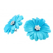 Earclips Flowers