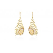 Earclips Yellow Gold